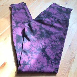 Lululemon shibori purple legging!